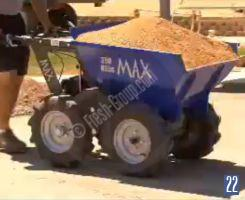 Muck Truck with sand load
