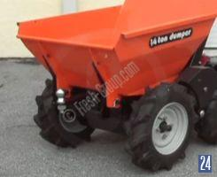 Muck Truck with ball hitch