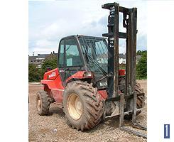 Building Site Forklift Telescopic